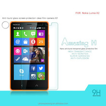 Factory price mobile phone Tempered Glass Screen protector/film for Nokia Lumia X2