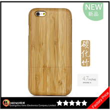 100% Natural Real Wood Bamboo for iPhone Case Wood,Handmade Wood for iPhone 6 Accessories Wholesale for iPhone6 Plus