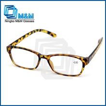 Two-Tone Classic Reading Glasses Flower Pattern Reading Glasses