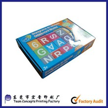 Other educational toys paper puzzle cube made in china