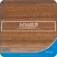 Click system wood texture vinyl plank in 4.0mm