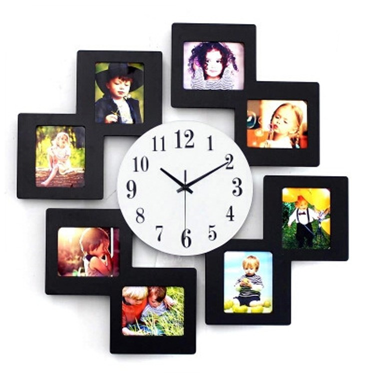 Export Home Decor Fashionable Fancy Design Acrylic Wall Clock With