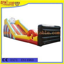 Popular hot sale factory price inflatable zorb ball ramp game for adults outdoor sport games
