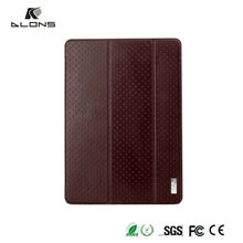 Shen DLONS leather flip case for ipad air 2, flip cover case for i pad air 2