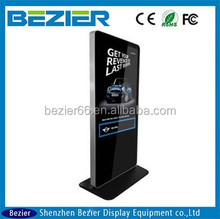 """high quality 47""""network free video, photo and video,floor stand lcd video player"""