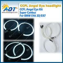 Angel Eye Halo Ring CCFL White For BMW E46 2D E87 12V 7000K New