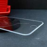 Wholesale for iphone for Iphone 6 full cover SILICONE EDGE Perfect 3d curved full cover tempered glass screen protector