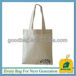 blank wholesale style organic cotton canvas drawstring tote bags