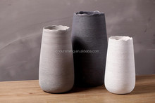 Inferior smooth dry flower vase Creative home boutique coffee shop furnishing articles
