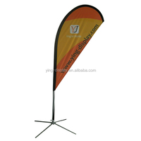 office flagpole for advertising