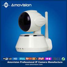 Amovision Wireless/Wired WiFi IP Camera 2 way audio