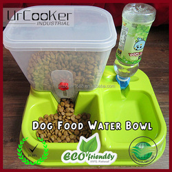 New design automatic water feeder feeding dish bowl double dog bowl