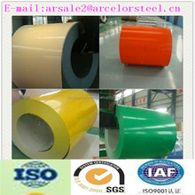 Trade Assurance Various color Print/Desinged Prepainted galvanized Steel Coil for roofing with quick delivery