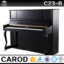 black upright studio baby grand console piano free delivery and set up warranty