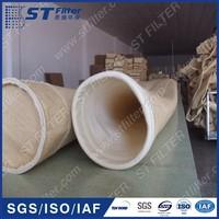 aramid filter bag for cement,high temperature resistance filter bag