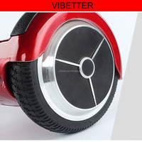 wholesale 6.5inch Mercedes benz type wheels with rubber strip cover good price electric scooter China/Samsung battery option