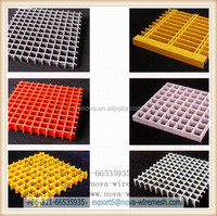 Various sizes and steel fiberglass grating offshore