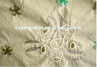 puffy wedding dress fabric handmade embroidery islamic dresses fabric mikado fabric wedding dress