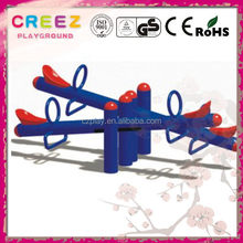 Latest best sell electric seesaw train for shopping mall