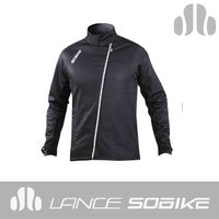 2014 Men's high quality black windproof cycling jackets for man China