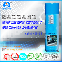 Mould release agent/ Mold releassing agent/Silicone spray B-19