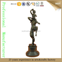 antique famous bronze nude male statue Figurine Sculpture nude male statue