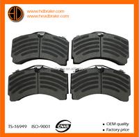 mercedes actros brake pad A0064201520