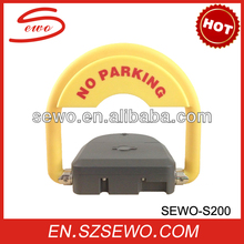 Outdoor remote control car parking barriers. automatic Parking space saver for parking lots system