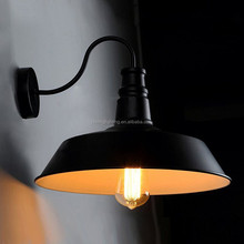 High quality cheap industrial retro loft edison style vintage wall light for warehouse china supplier
