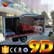 light weighted guns with accurate shooting 9d cinema on truck for sale