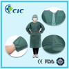 High quality disposable blue patient surgical gown, hospital patient gown