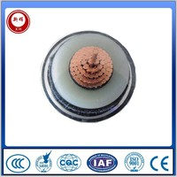 High voltage PVC insulation power cable for sale