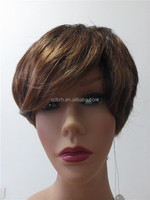 Fashion Highlight Mono Top Synthetic Hair Lace Wigs in Stock