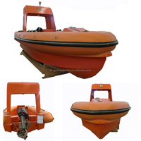 FRP Inflatable Rescue Boat for Sale