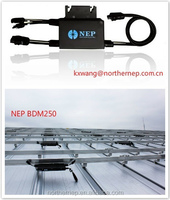 waterproof with gateway monitoring 250w solar micro inverter