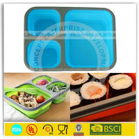Promotional silicone mess container