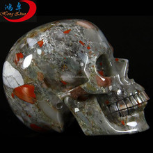 Natural crystal skull head skull carving/Natural quartz crystal skulls