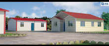 2015 New Technology Fast Assembling prefabricated houses and villas containers