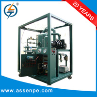High Performance Double Stage oil purifier system/transformer oil manufacturers