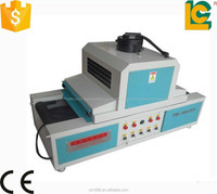 China hot sale desktop Plane flat products UV curing tunnel TM-300UVF