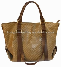 2015 New product fashion trend leather woman wholesale handbag china handbag