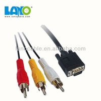 Good quality rca male to vga male converter