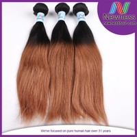 16 inches straight indian remy two color extension sell virgin black hair care products wholesale