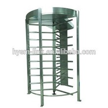 High standard dustproof and waterproof 2-Lane Security Full Height Turnstile with Alarm System