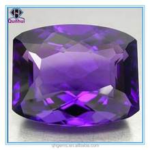 winsome arc rectangle shaped purple cubic zircon