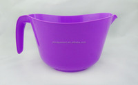 Big size Water mixing bowl with handle Kitchen water bucket plastic water container