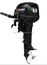 2 Stroke 40hp CDI outboard marine motor engine with remote control&electrical start for fishing boat