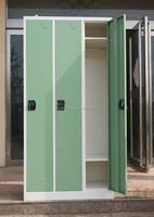 Cheap Furniture Supplier 3 Door Metal Clothes Locker