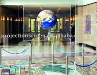 FUTURE Transparent Holographic Film / Rear Projection Film/ Holographic Transparent Foil For Advertising