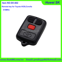 best price remote key for Toyota VIOS,Corolla remote control is from 2003 to 2008